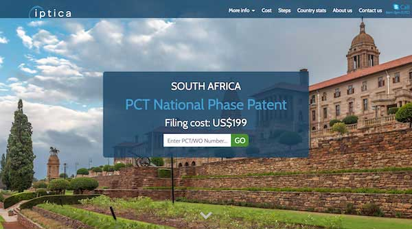 South Africa Patent Foreigners